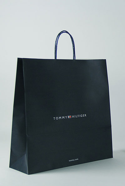 Tommy Hilfiger clothing bag paper packaging
