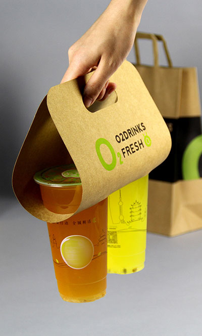 Fully automatic machine food bag takeout bag for drink